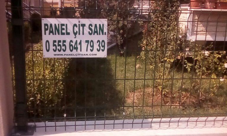 Panel çit örnekleri